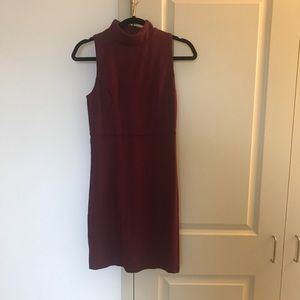 French Connection Maroon Dress